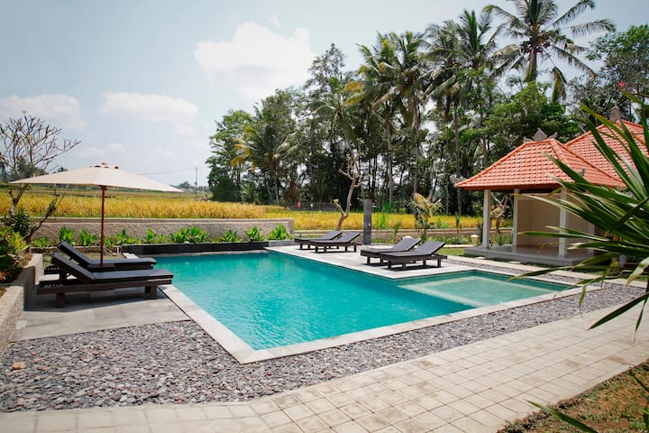 Deluxe room with Ricefield View UBUD