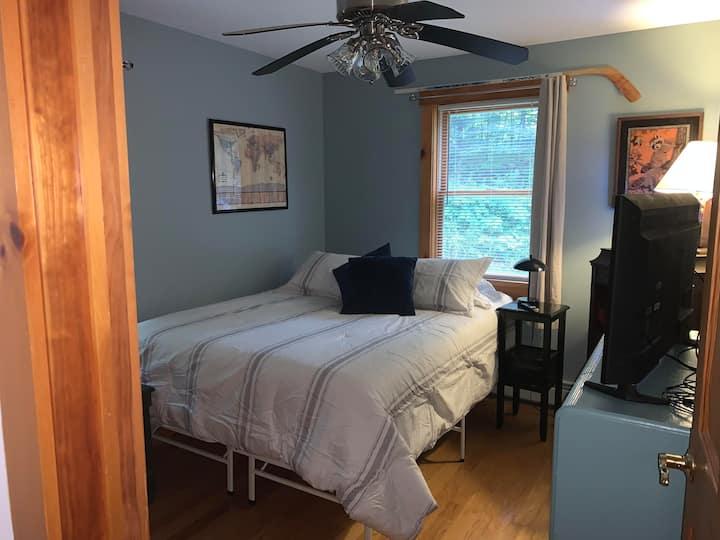 Cozy Bedroom in Old School House
