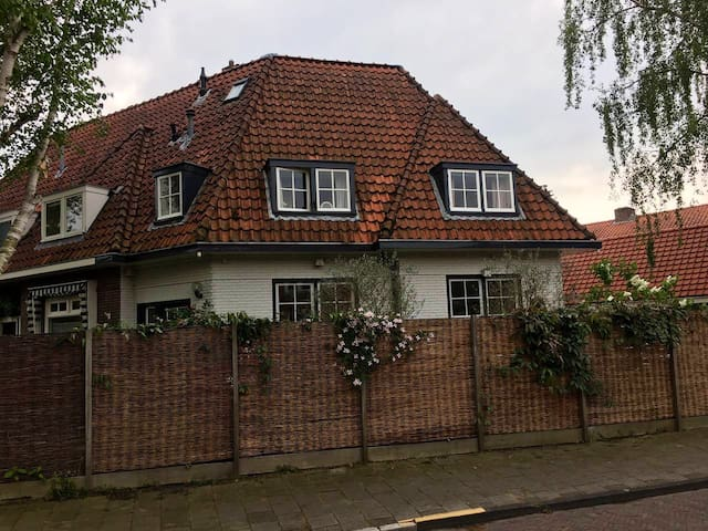 Private home with garden close to Amsterdam