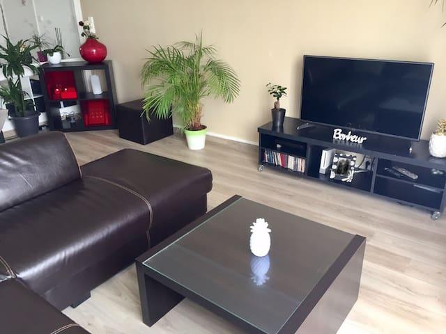 Appartement rénové en centre-ville de Biscarrosse