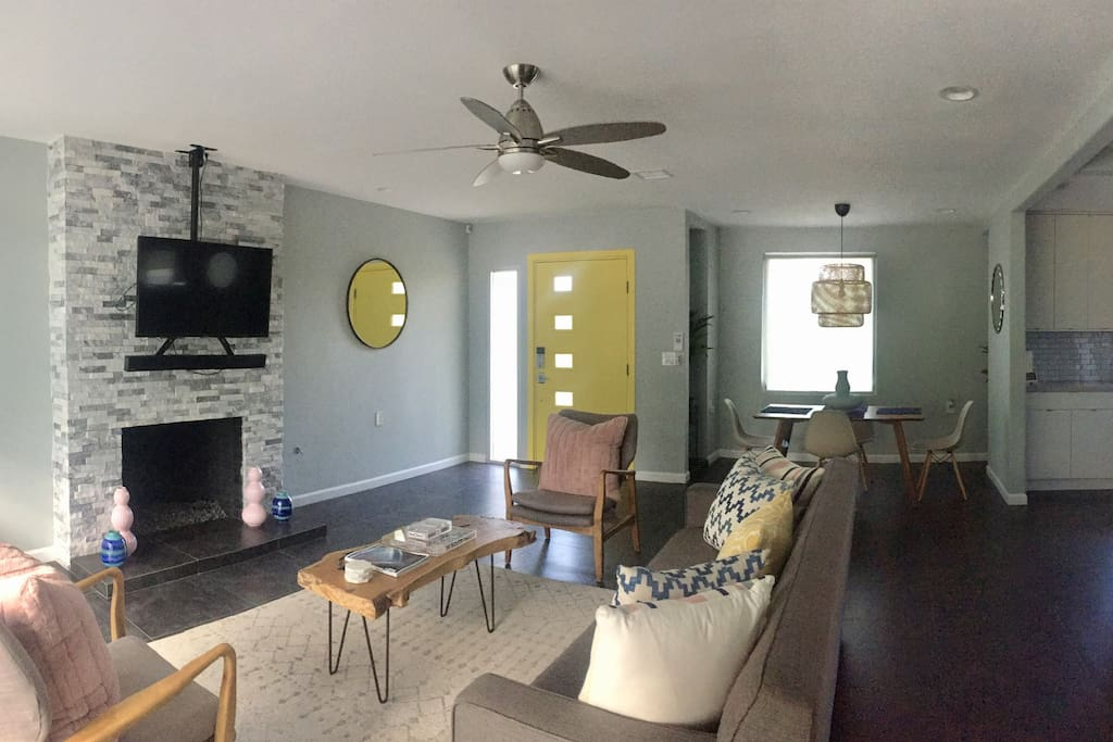 Check out the Living Room's latest styling! Gregory is always changing and updating their home so you never know what amazing updates await you.