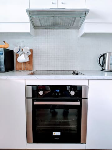All the kitchen equipment you need