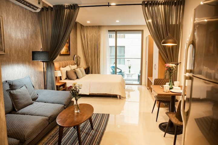 XIHOUSE-PREMIUM STUDIO APT-CITY CENTER-FREE POOL