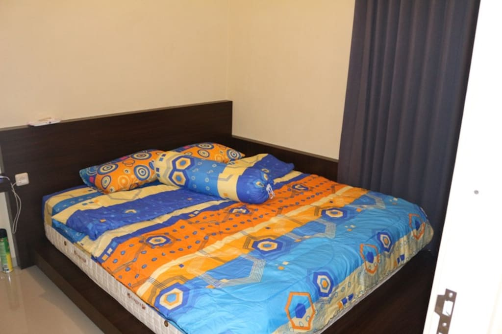 Bed room with SuperKing size bed