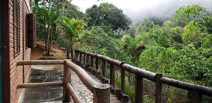 Casa nas montanhas de Domingos Martins