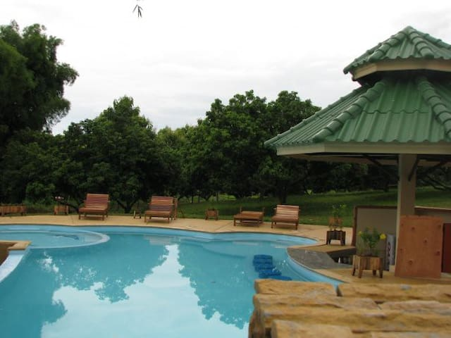 villa with shared swimming pool - Mae Chan - House