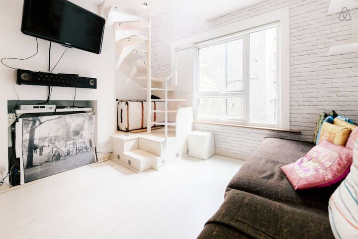 Q4. Modern New York Style Flat in London (NE) - Londres - Apartamento