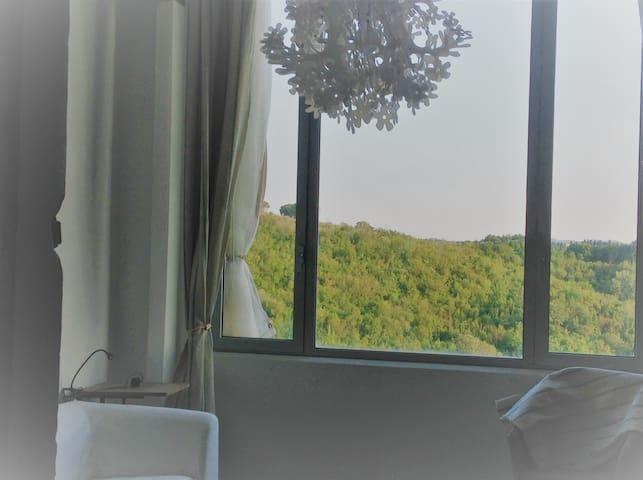 A studio flat along the Francigena Road