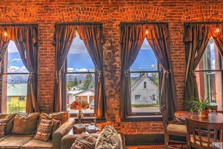 Leadville's Historic Loft w/ a Beautiful View + Sauna!