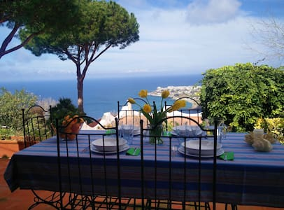 A Panoramic Villa in Ischia 6 people