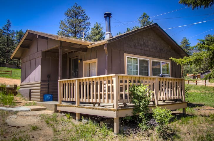 Cozy Rocky Mountain Cabin! 5th night 1/2 off!