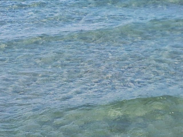 Clear water in Otranto