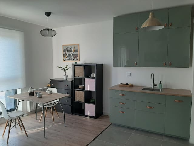 New apartment in the city center