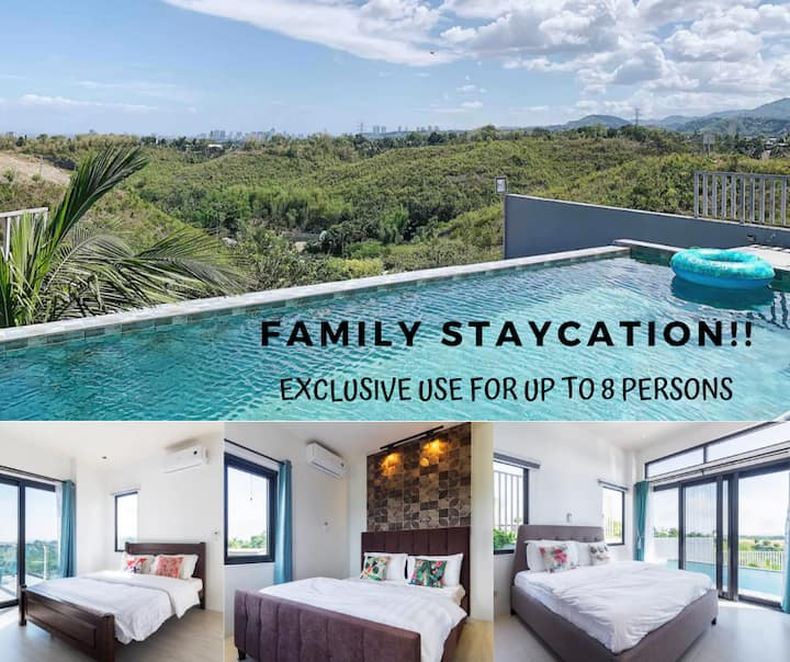 ❤️4BR Infinity Pool Villa: XBOX, Skyviews, Netflix