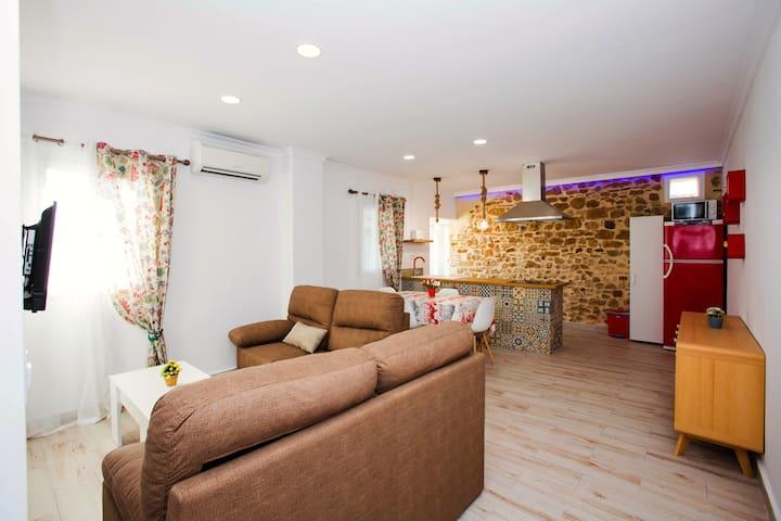 Acogedor apartamento en centro histórico de Dénia
