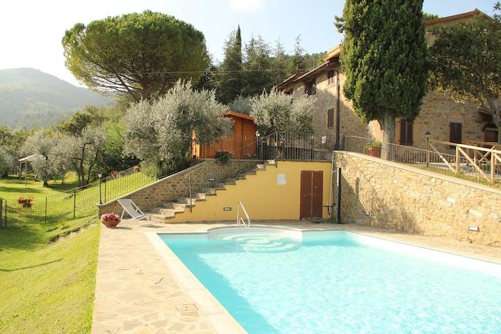 """Country House - Casa di Sasso - Apt. """"Sasso Verde"""""""