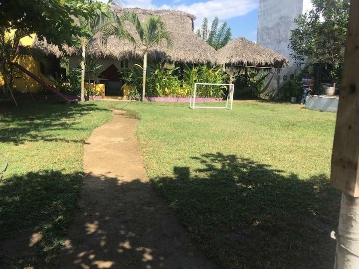 Palapa jardin