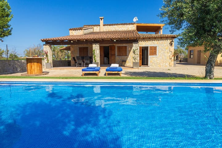 Rustic House with Pool in Binissalem - Binissalem - Casa