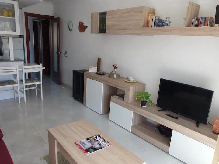 Cozzy flat,quiet area/Acogedor piso,zona tranquila