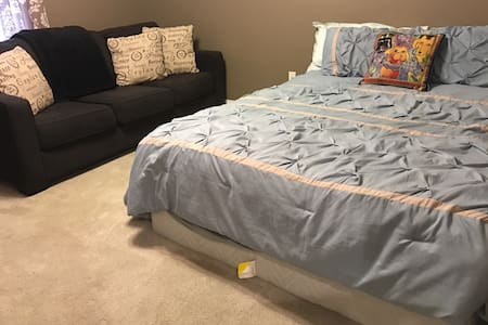 Spacious cheap 1 bedroom in Metairie/New Orleans! - メテリー