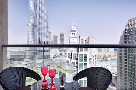 Burj & Fountain view - Iconic 2BDR Downtown Dubai - Dubai - Byt