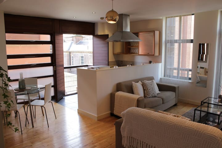 Modern 2 bed apart in l'pool one - Liverpool