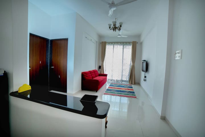Cozy 1 BHK Apartment in Varsoli Alibaug Unit 2
