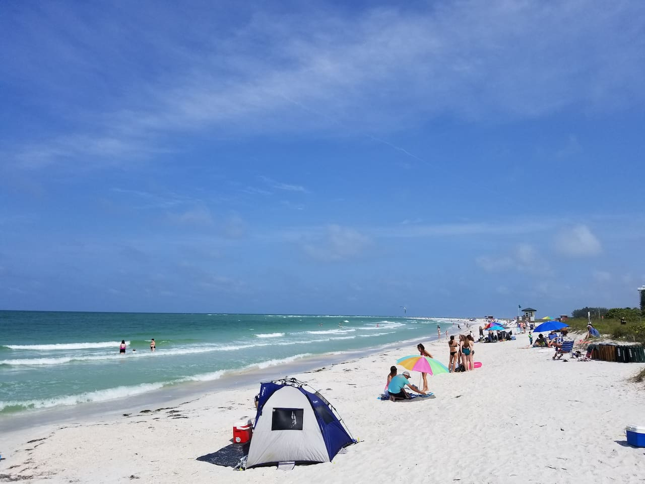 Photo from June 3, 2018 the calm after Tropical Storm Alberto. The beach came back!