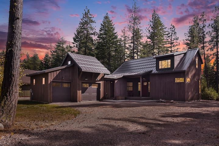Beautiful Modern Mountain Home_4th Nt FREE_Patio w/ Seating_Fire Pit_Hot Tub