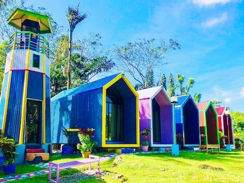 Lanzones Cabana: Modern Cabana Bunk