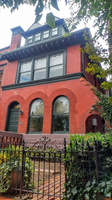 Beautiful semi detached building.  Apartment is on second floor.