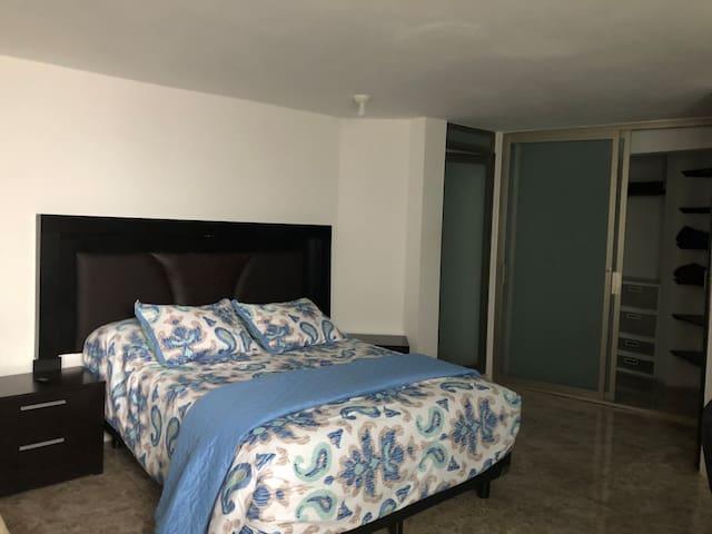 Una habitación genial para una estancia perfecta.
