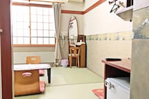 Japanese-Style Room with Private Bathroom - Non-Smoking : Make yourself at home. We wish you relaxing experience in Japanese style room.