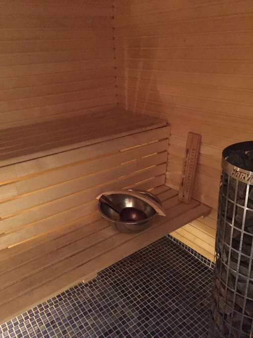 Sauna available for the guest!