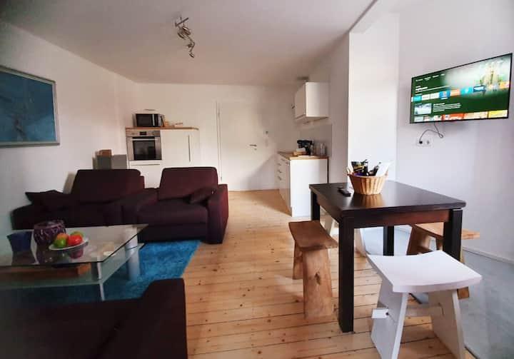 Komplett sanierte Wohnung in der City, Erstbezug!