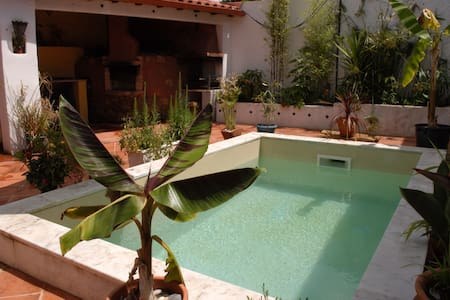 Studio,beautiful garden courtyard - Figueira