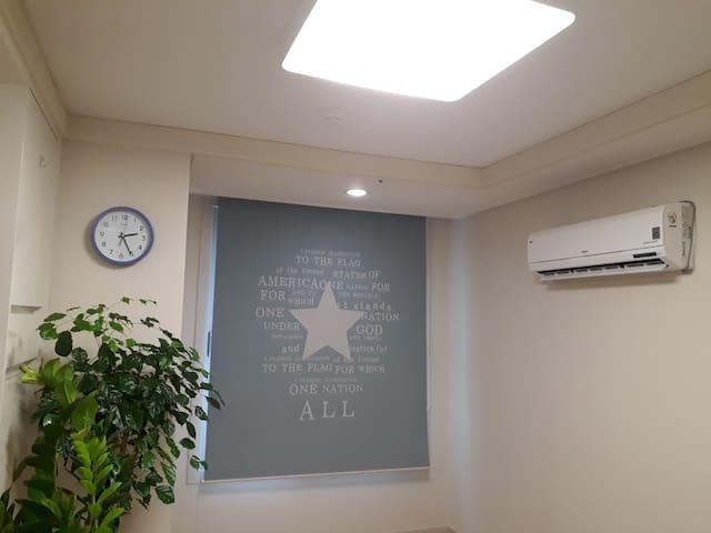 NEW!! 부산시청 바로옆, 서면역 5분(지하철), 깨끗/조용/안전한 신축 아파트