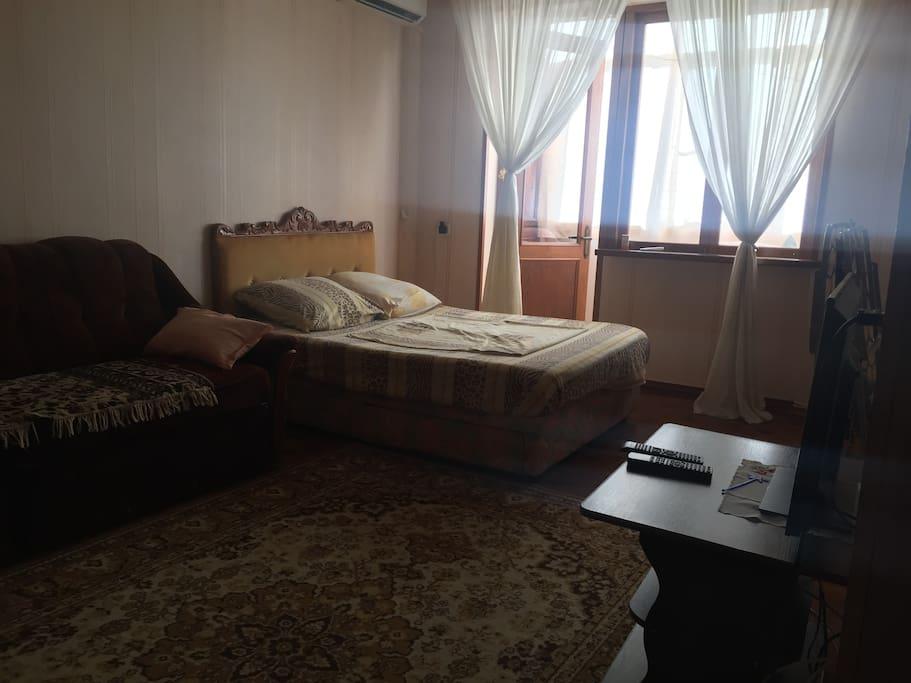 Комната. Спальные места.