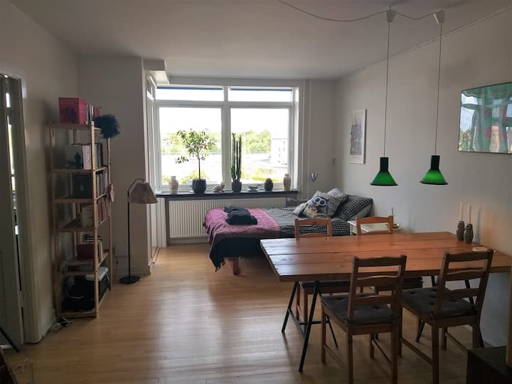 Spacious apartment in Vesterbro/South Harbour