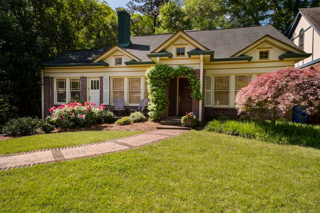 Private wing in this newly renovated bungalow with tons of historic charm
