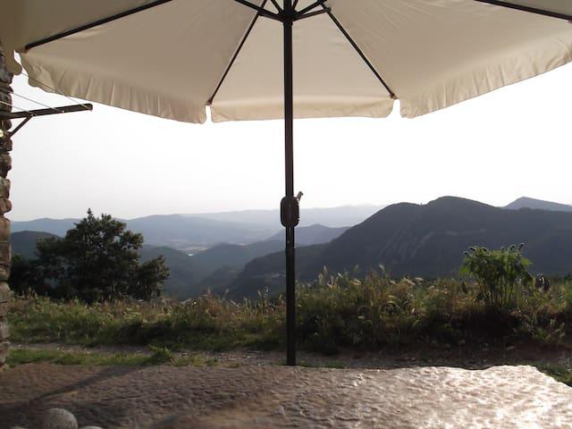 "Appartment  with view over ""valle de la fueva"""