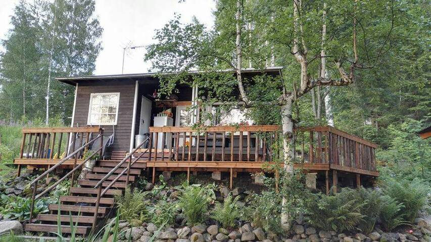Tradit. lake cottage 1h fm Tampere - Ruovesi - Chalet