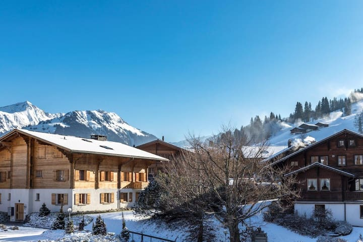 Flat next to Ski Lift - Great for a Family Stay