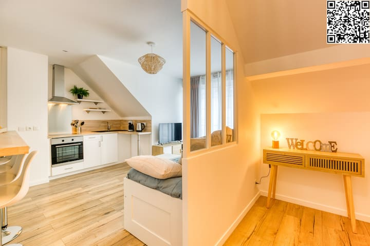 Appartement Cosy Paris/Disney *Petit dej gratuit*