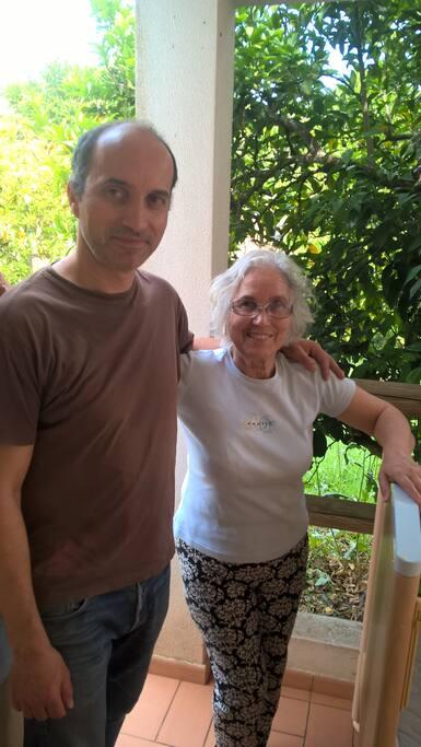 Filipe et Fernanda (filho e mae)