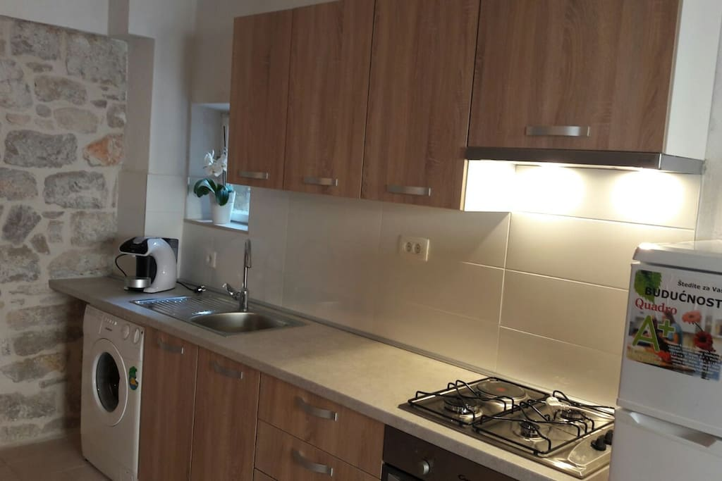 kitchen was recently renovated and is fully equipped