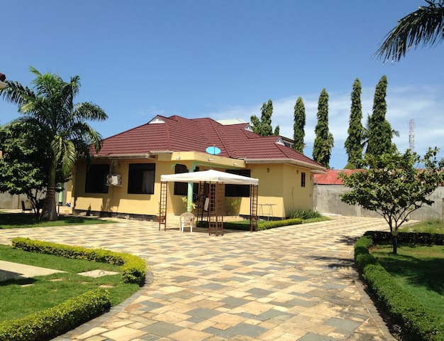 Private 4 bedroom equipped furnished guesthouse