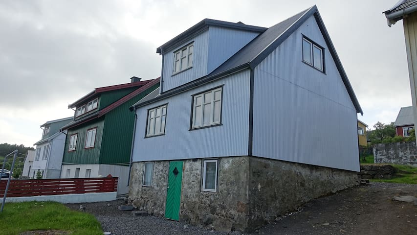 Traditional Faroese House in Miðvágur