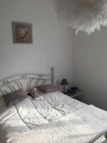 Chambre Calme à 15' de Caen & 20' de la plage.