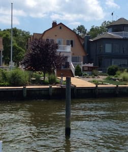 Metedeconk Riverfront home - Brick
